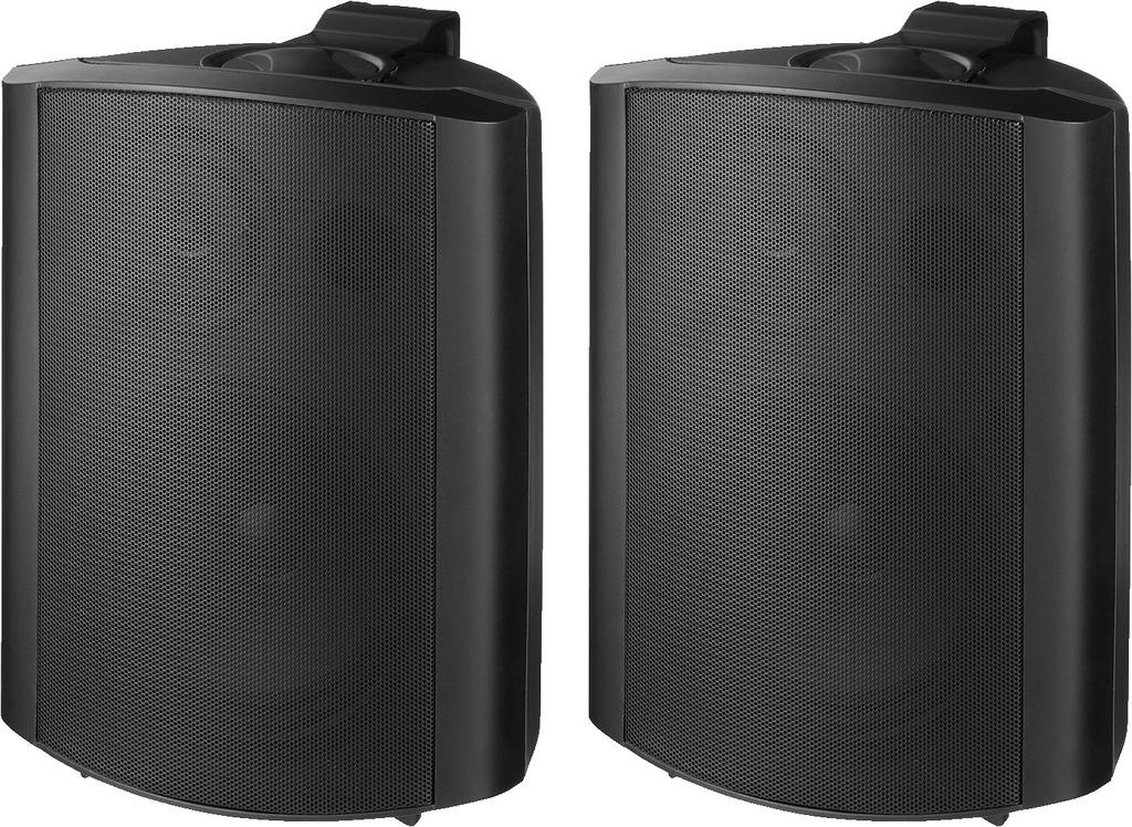 MONACOR MKS-64/SW 2-Wege-Lautsprecherboxen-Paar, 60 W, 4 Ω