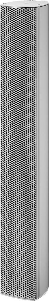 MONACOR ETS-630DT Aktive ELA-Tonsäule mit Dante®-Modul
