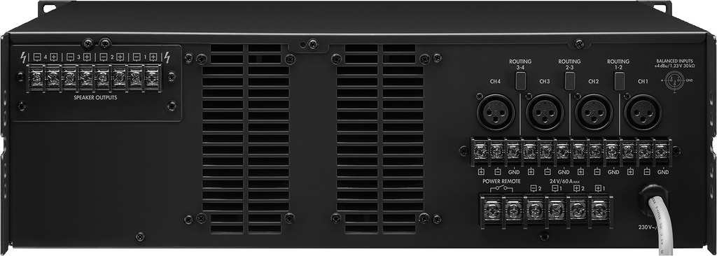 MONACOR PA-4120 ELA-Leistungsverstärker