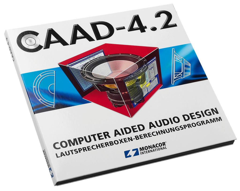 MONACOR CAAD-4.2 CAAD-4.2, 32-Bit-Version für Windows* (ab Version 98)