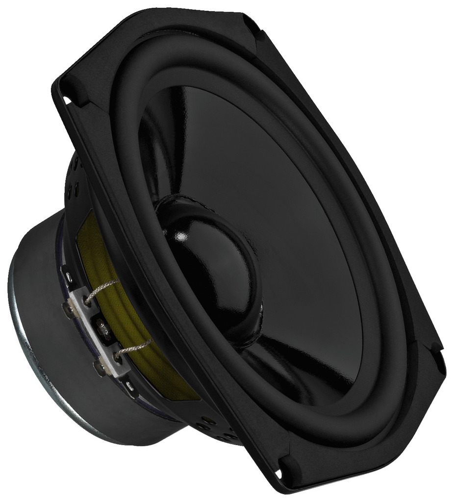 MONACOR SPM-165/8 Hi-Fi-Tiefmitteltöner, 60 W, 8 Ω