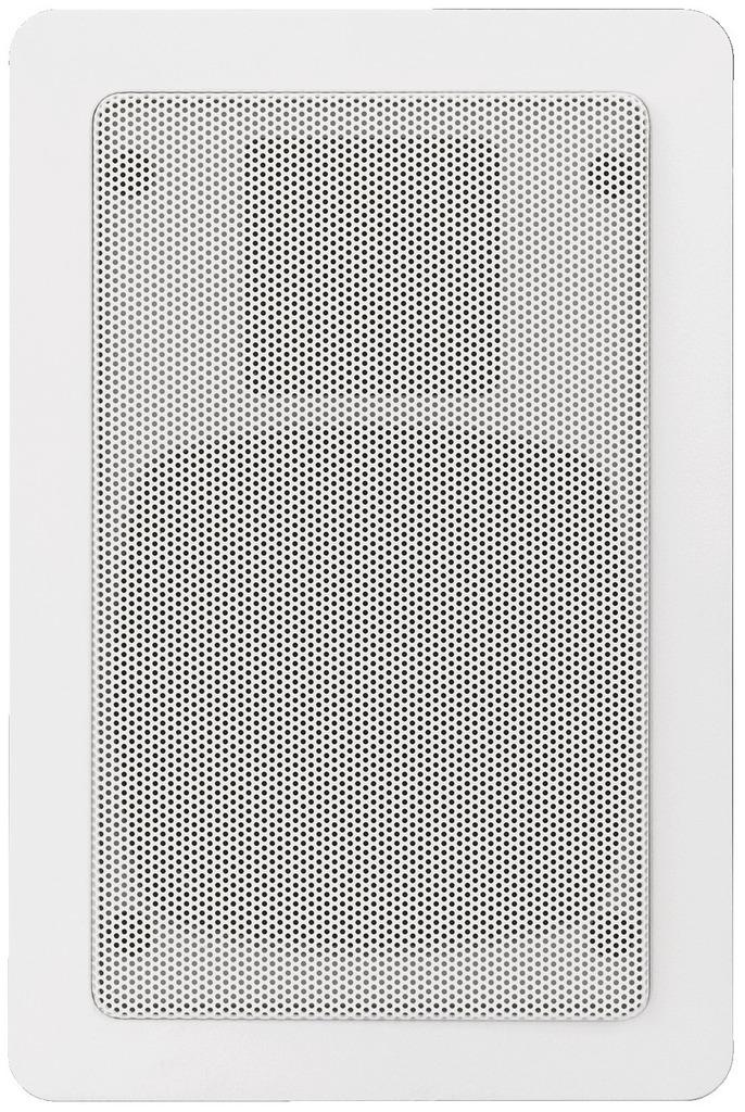 MONACOR SPE-15/WS Hi-Fi-Wand- und Deckenlautsprecher, 25 W, 8 Ω