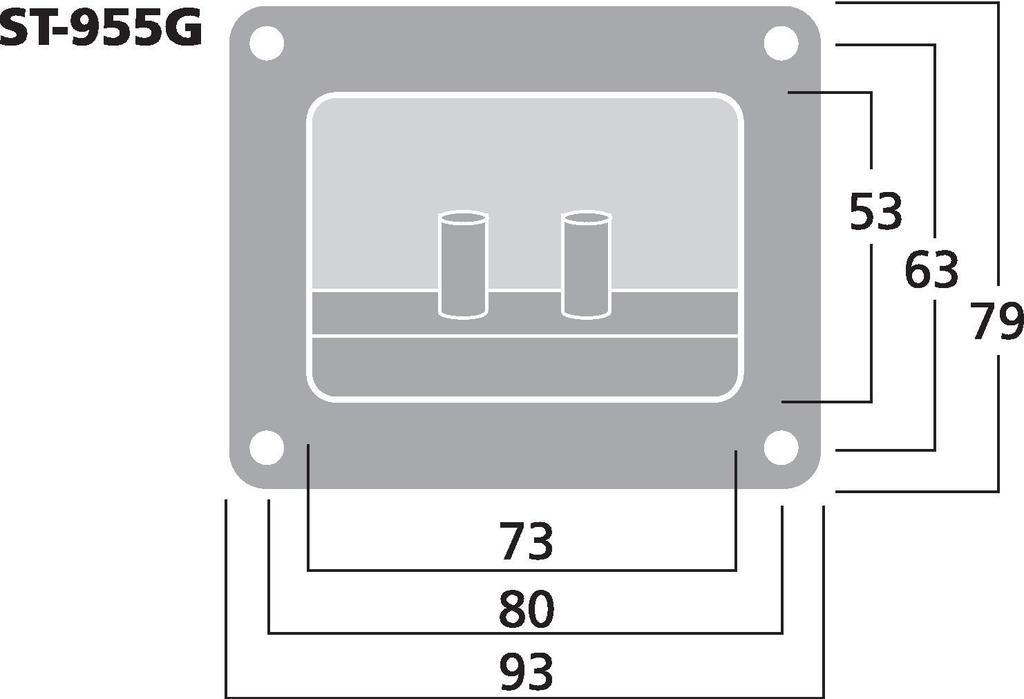 MONACOR ST-955G LS-Terminal