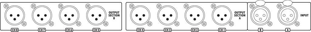 IMG STAGELINE LS-280/SW 8-fach-Line-Splitter