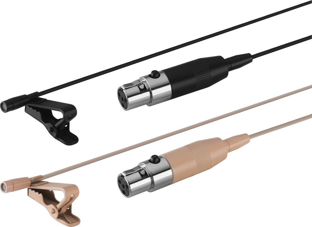 JTS CM-125IB Elektret-Lavaliermikrofon