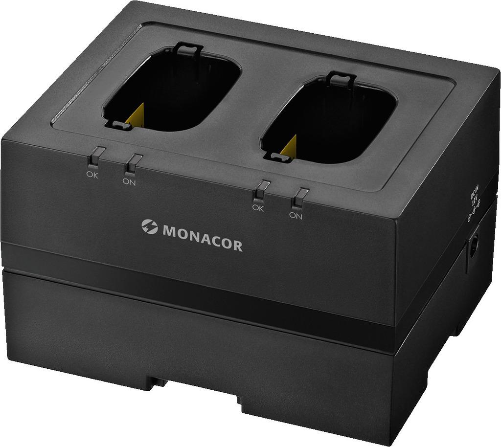 MONACOR ATS-50PS Intelligente PWM-Schnellladestation, 2-fach