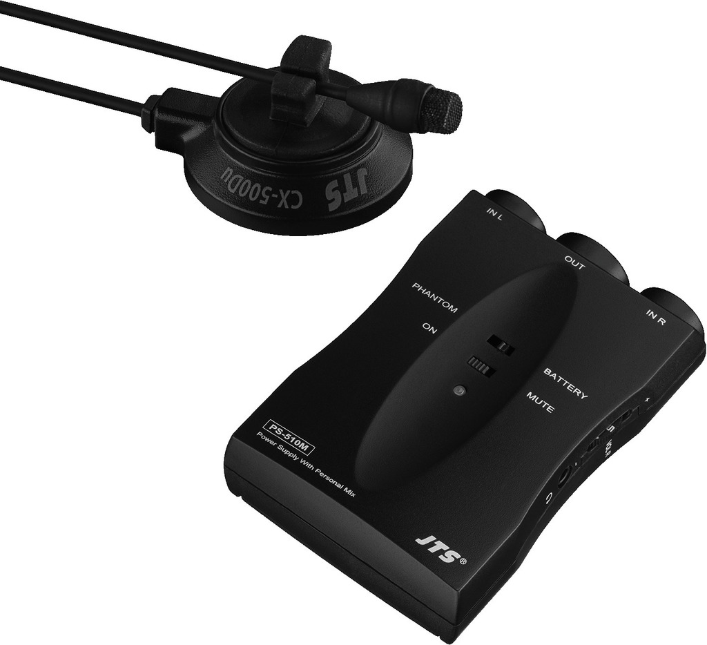 JTS CX-500DUSET Miniatur-Elektret-Instrumentenmikrofon