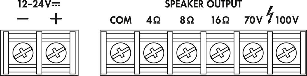 MONACOR PA-888D ELA-Mono-Class-D-Mischverstärker