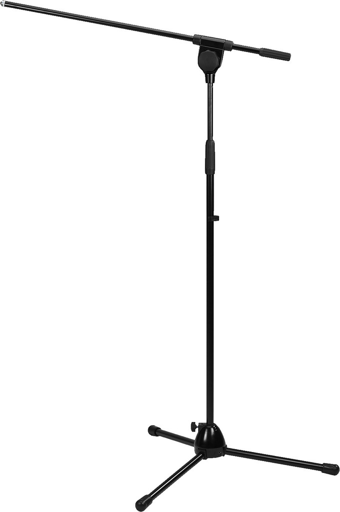 MONACOR MS-90/SW Mikrofon-Bodenstativ