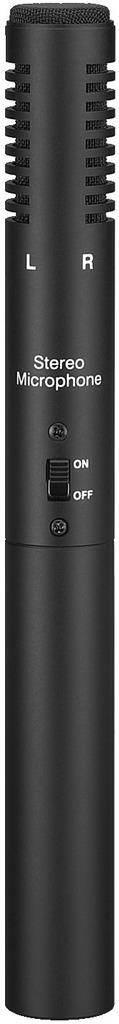MONACOR ECM-600ST Elektret-Stereo-Mikrofon