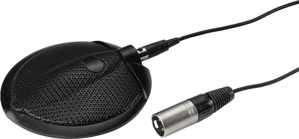 MONACOR ECM-302B Grenzflächenmikrofon