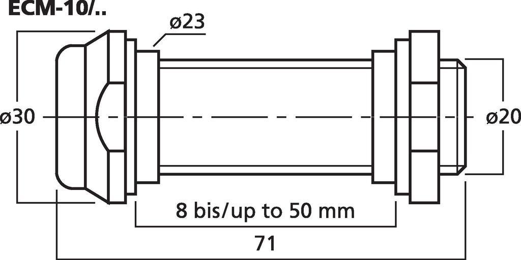 MONACOR ECM-10/SW Phantom-Einbaumikrofon