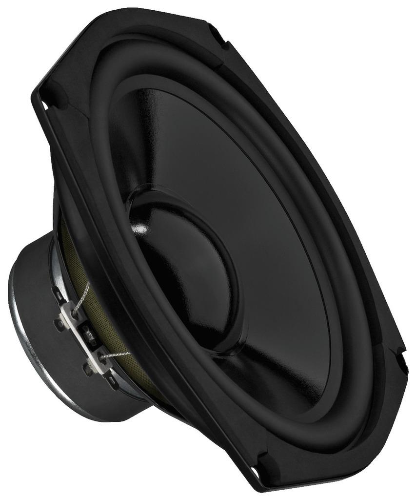 MONACOR SPM-205/4 Hi-Fi-Tiefmitteltöner, 70 W, 4 Ω