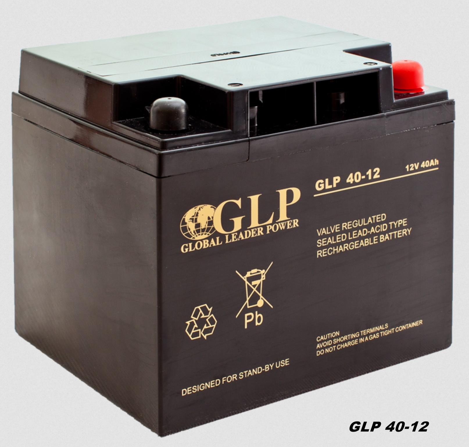 GLP AGM GEL Deep Cycle Akku VRLA 12V 40Ah