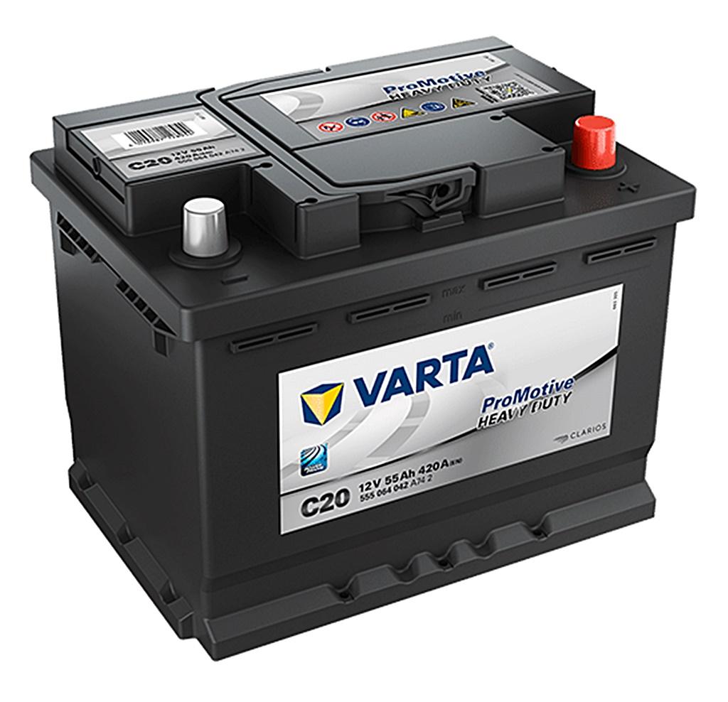 Varta Nutzfahrzeugbatterie ProMotive HD 12V 55Ah 555064042A742 242x175x190mm
