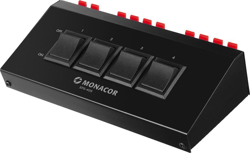 MONACOR SPS-40S Lautsprecher-Schaltpult