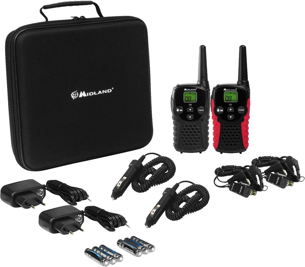 IMG STAGELINE G-5SET Funkgeräte-Paar, 446 MHz