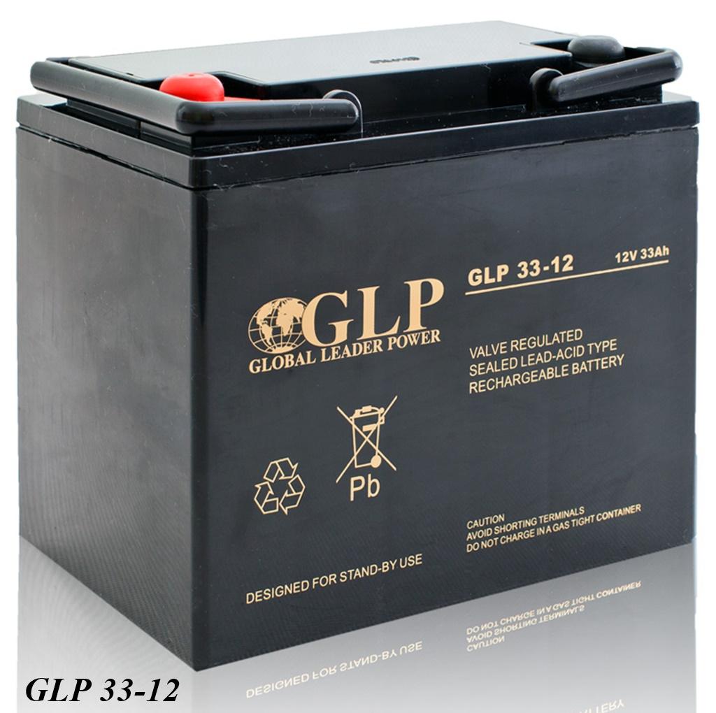GLP AGM GEL Deep Cycle Akku VRLA 12V 33Ah