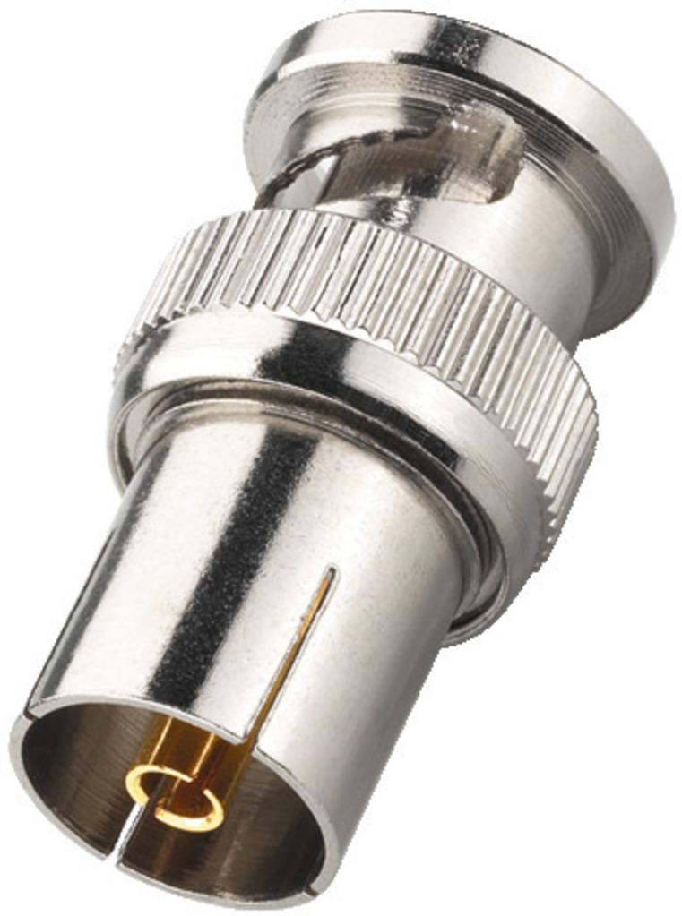 MONACOR BNC-2024 Adapter BNC-Stecker/Antennen-Koaxbuchse