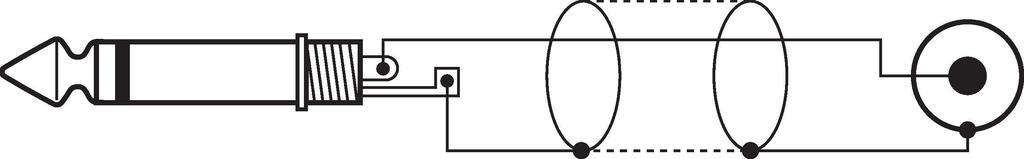 MONACOR MCA-156 Audio-Verbindungskabel, 1,5 m