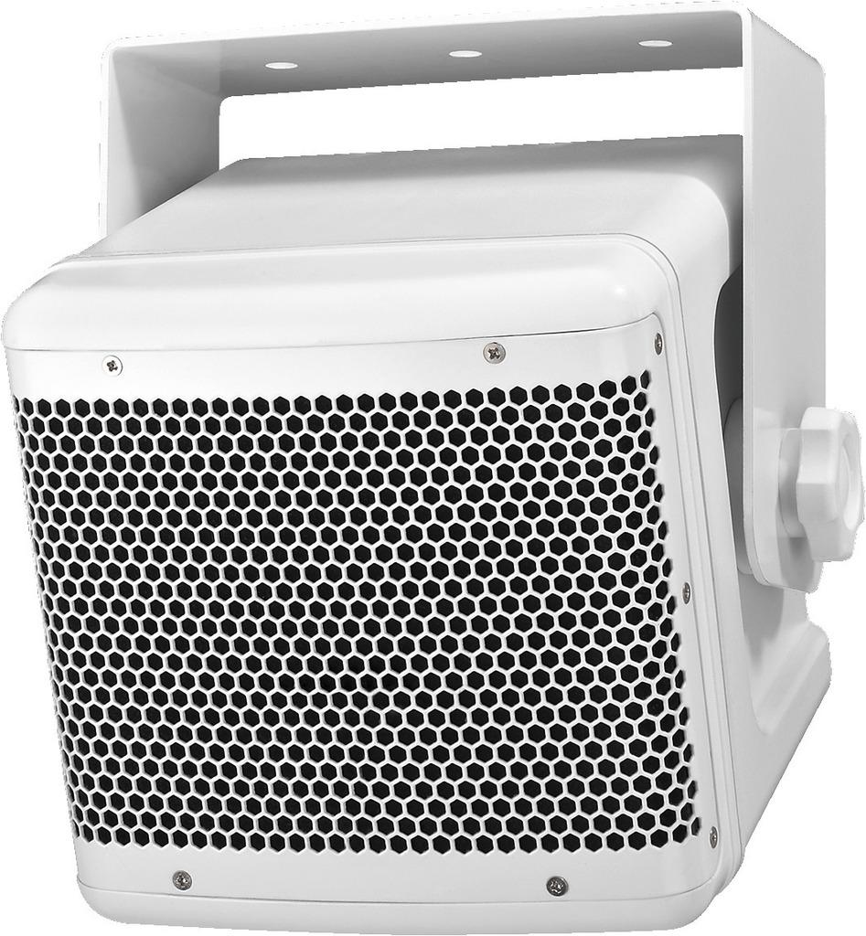 MONACOR PAB-52WP/WS Wetterfeste Hochleistungs-ELA-Lautsprecherbox, 50 W, 100 V/4 Ω