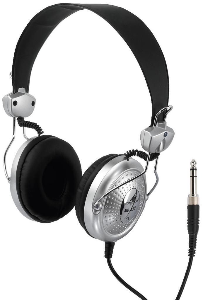 MONACOR MD-350 Stereo-Kopfhörer