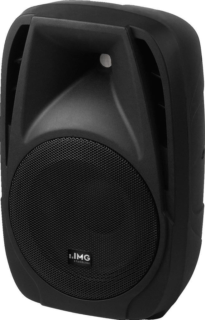 IMG STAGELINE PAK-10DMP Aktive DJ- und Power-Lautsprecherbox, 150 W
