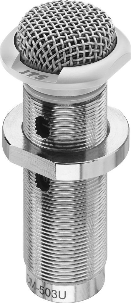 JTS CM-503U/W Elektret-Einbaumikrofon