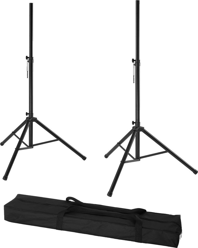 MONACOR PAST-122SET Lautsprecherboxen-Stativ-Set