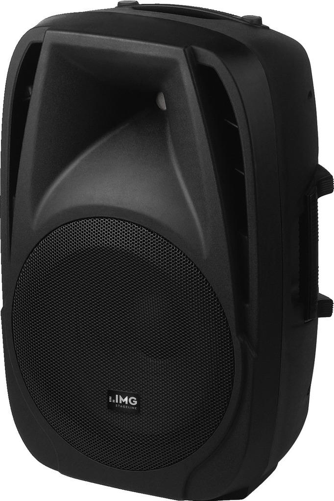 IMG STAGELINE PAK-12DMP Aktive DJ- und Power-Lautsprecherbox, 180 W