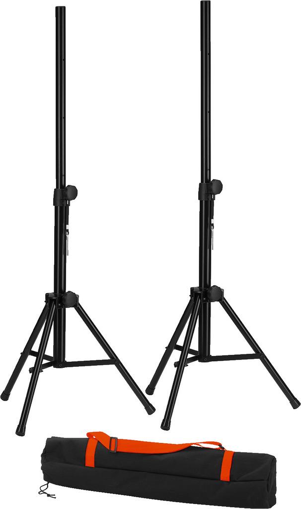 MONACOR PAST-125SET Lautsprecherboxen-Stativ-Set