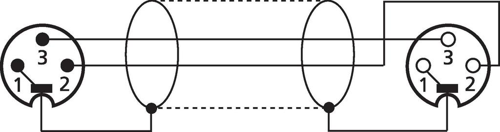 MONACOR CDMXN-1000/SW DMX-Verbindungskabel, 10 m