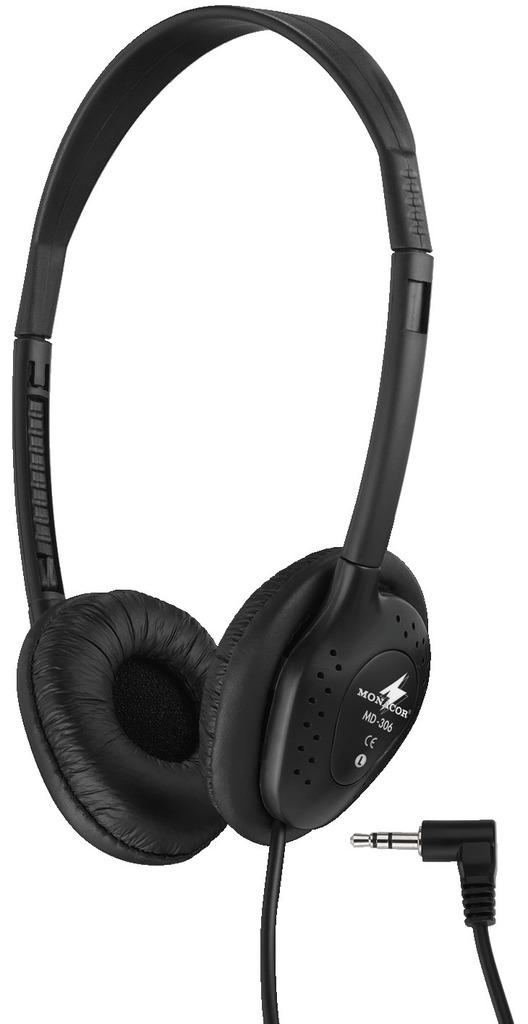 MONACOR MD-306 Stereo-Kopfhörer