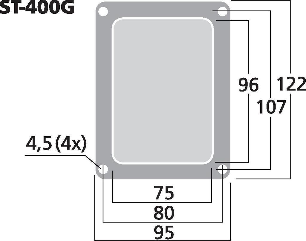 MONACOR ST-400G Bi-Wiring-Terminal