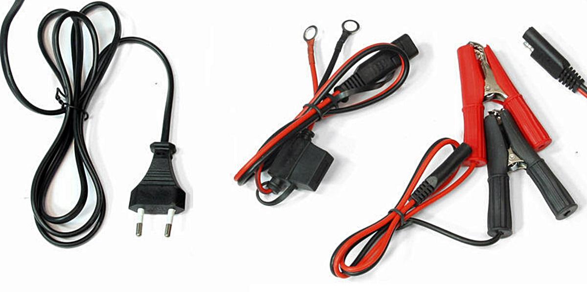 MW-Power Batterieladegerät MW-SC6B für Blei AGM Gel Batterien 12V 24V 1,2-180Ah 1A 3A 6A