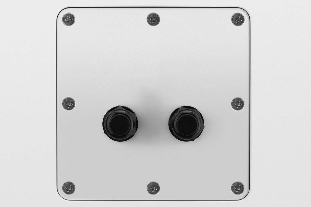 MONACOR PAB-82WP/WS Wetterfeste Hochleistungs-100-Volt-Lautsprecherbox,120 W, 100 V/8 Ω
