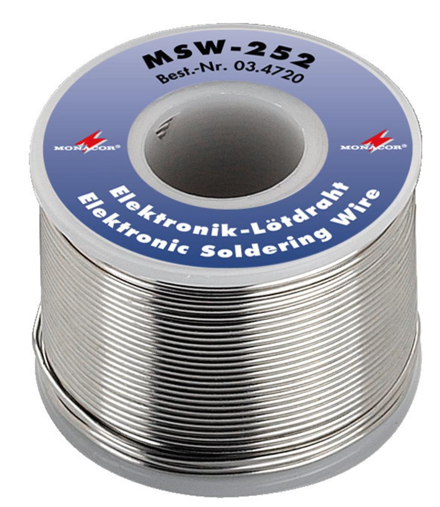 MONACOR MSW-252 Bleifreier Elektronik-Lötdraht