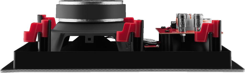 MONACOR SPE-602HQ Hi-Fi-Wand- und -Deckenlautsprecher, 35 W, 8 Ω