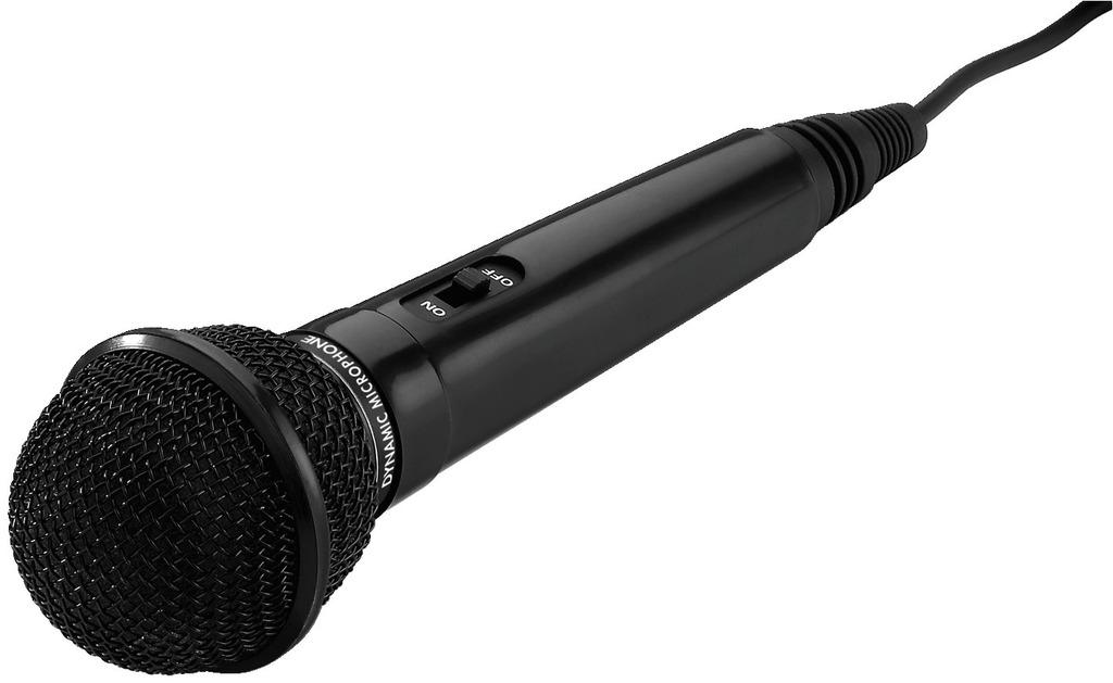 MONACOR DM-70/SW Dynamisches Mikrofon