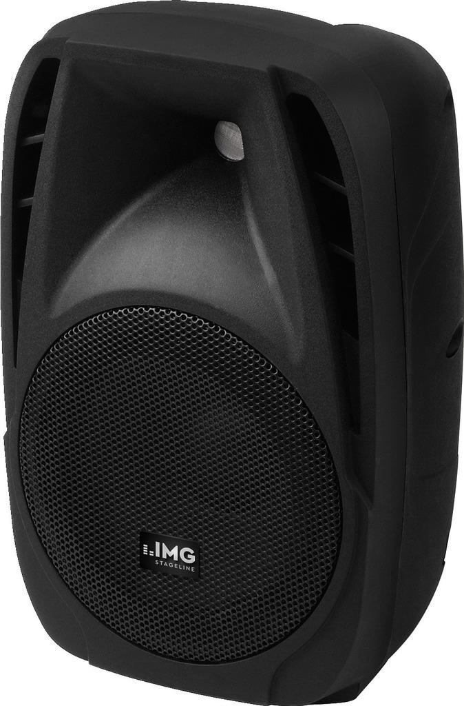 IMG STAGELINE PAK-8DMP Aktive DJ- und Power-Lautsprecherbox, 120 W