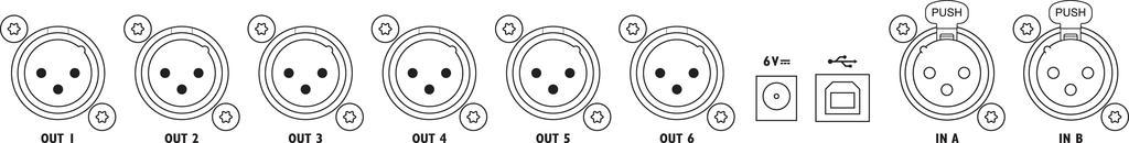 IMG STAGELINE DSP-26 Digitales Lautsprechermanagement-System
