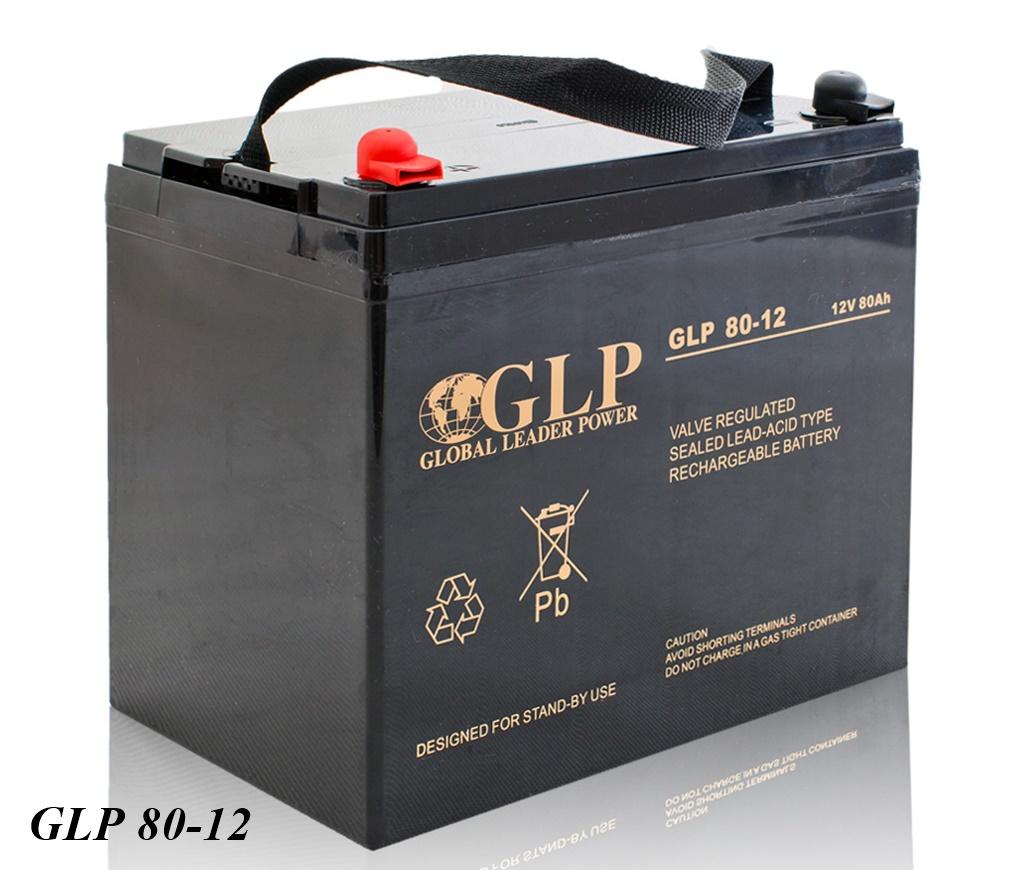 GLP AGM GEL Deep Cycle Akku VRLA 12V 80Ah