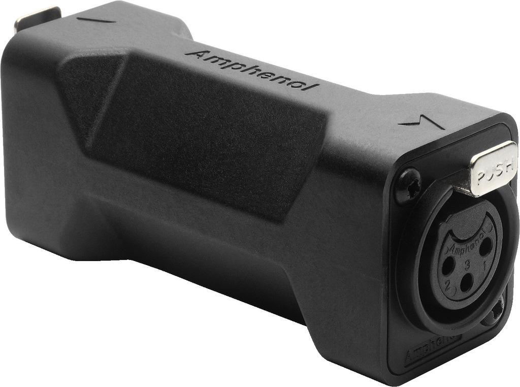 MONACOR AC3F3FDW Adapter XLR-Buchse/XLR-Buchse