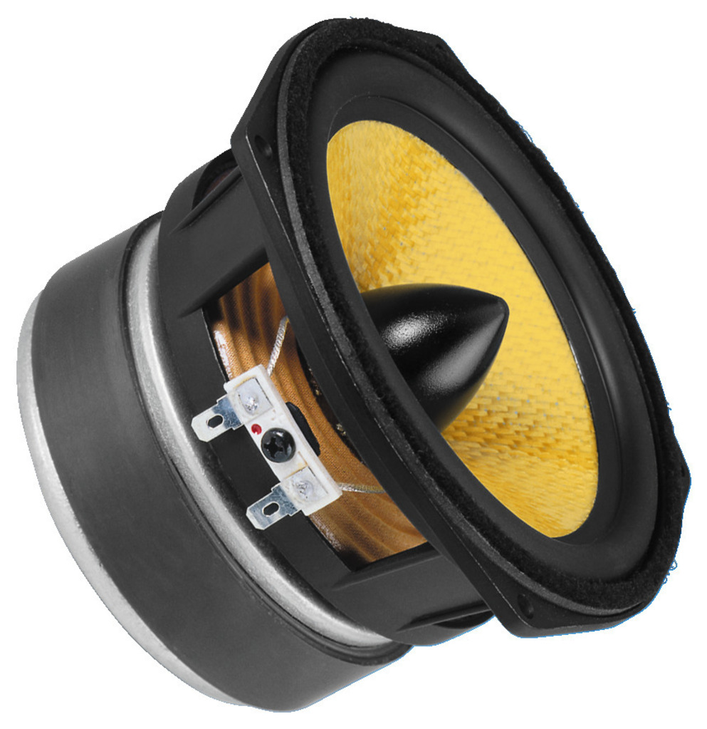 MONACOR SPH-135KEP Hi-Fi-Tiefmitteltöner, 50 W, 8 Ω