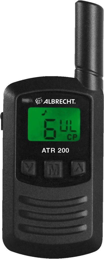 MONACOR ATR200 Tourist-Guide-Empfänger, 2er-Set, 446 MHz