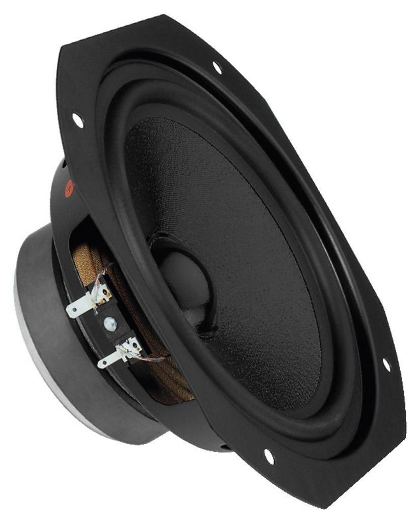 MONACOR SPH-175 Hi-Fi-Tiefmitteltöner, 60 W, 8 Ω