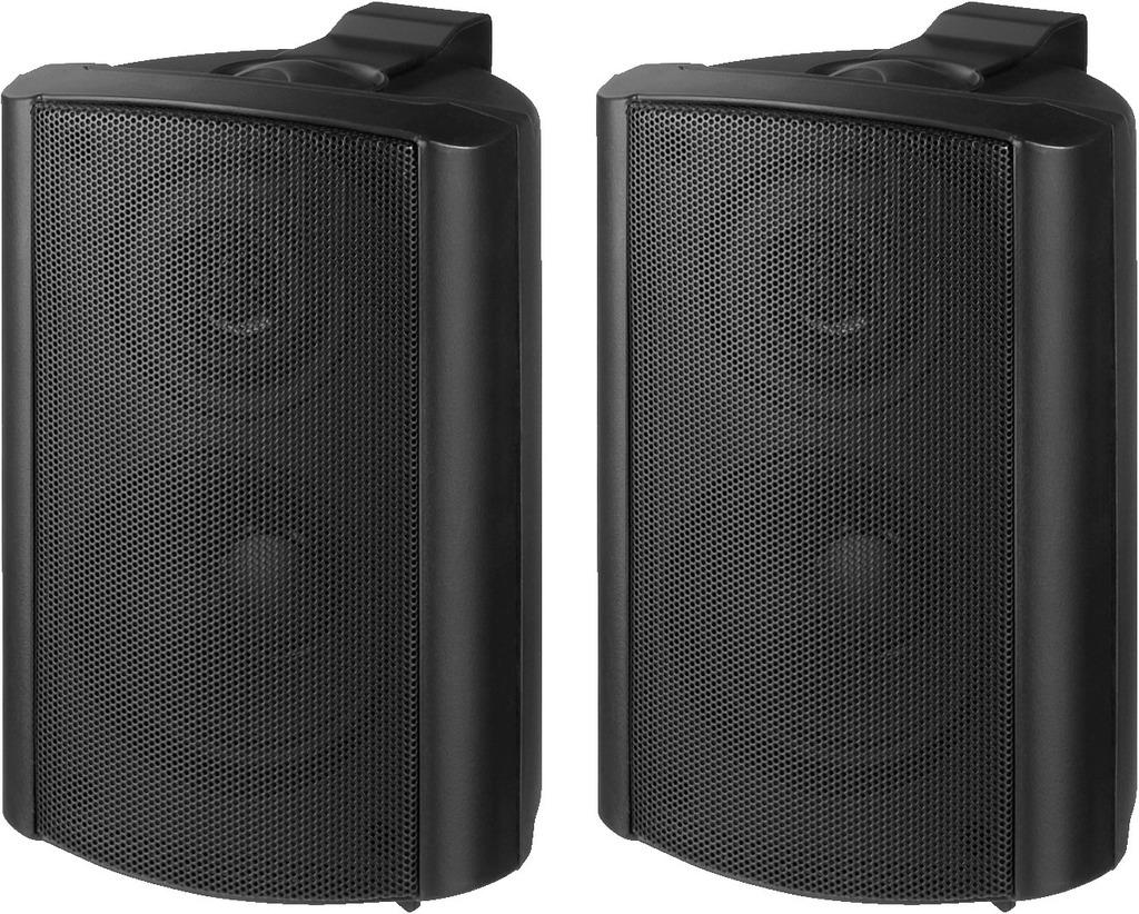 MONACOR MKS-34/SW 2-Wege-Lautsprecherboxen-Paar, 30 W, 4 Ω