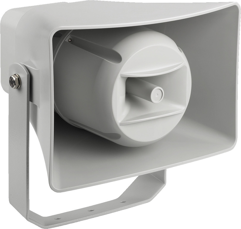 MONACOR IT-100TW Wetterfester Druckkammerlautsprecher (Musikhorn) in 2-Wege-Technik