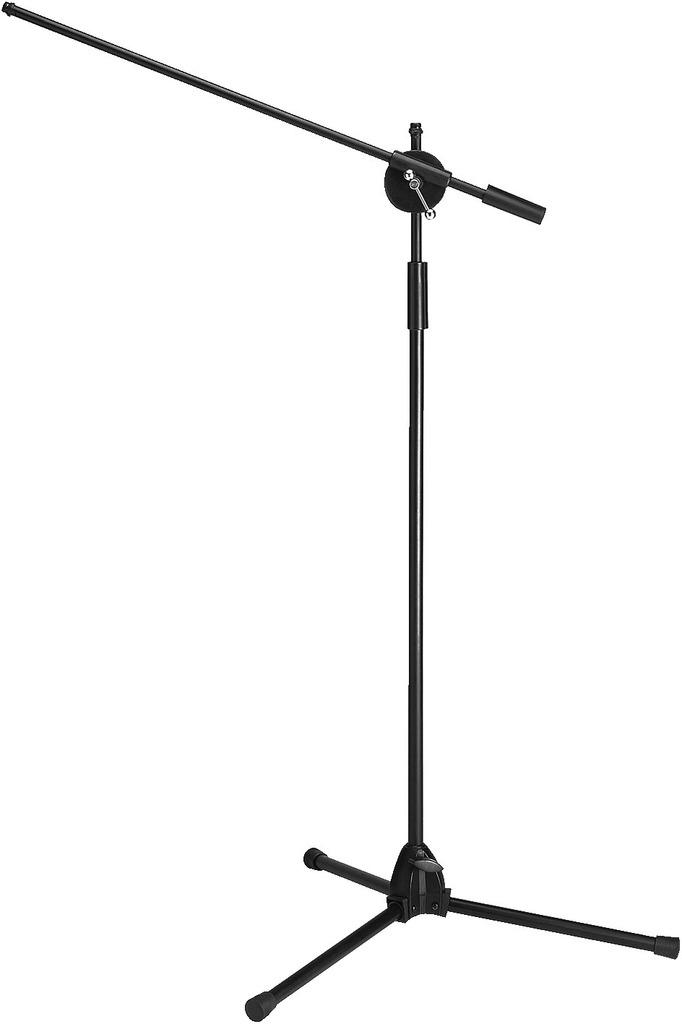 MONACOR MS-40/SW Mikrofon-Bodenstativ