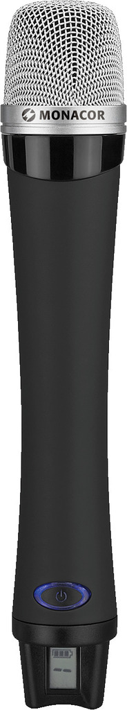 MONACOR ATS-12HT Handmikrofon mit eingebautem Sender